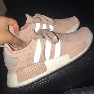 adidas Shoes - Women's Adidas NMD R1 in Ash Pearl/Chalk Pearl